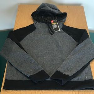 Under armour infrared cold gear hoodie pullover